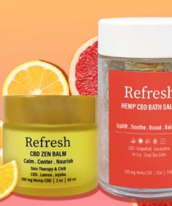 Refresh CBD skincare on sale